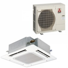 Twin System Cassette - Mr Slim PLA-RP Standard Inverter Heat Pump (Single Phase)