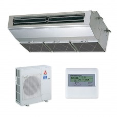 Twin System Ceiling - Mr Slim PCA-RP Power Inverter Stainless Steel Heat Pump (Single Phase)